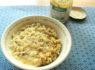〚308カロリー〛ジェノベーゼチーズのオートミール