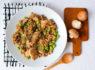 〚426カロリー〛きのこと枝豆のオートミールリゾット