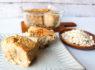〚76カロリー〛豆腐とオートミールのもちもちケーキ